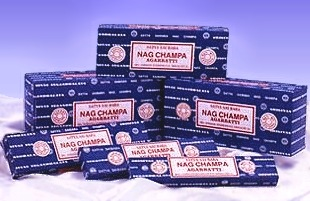 Nag Champa Incense Sticks, Oils, Soaps