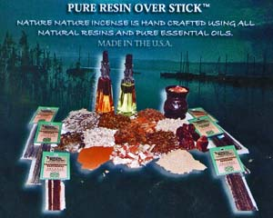 Nature Nature - Pure Resin over Stick Incense