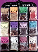 Traditional Incense, Resins, Herbs and Powders